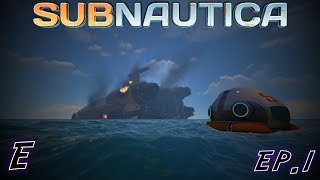 Let's Play Subnautica | Episode 1 | Going for a Dive!