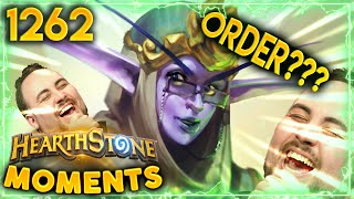 EXCUSE ME?? What THE HELL Was That ORDER?   Hearthstone Daily Moments Ep.1262