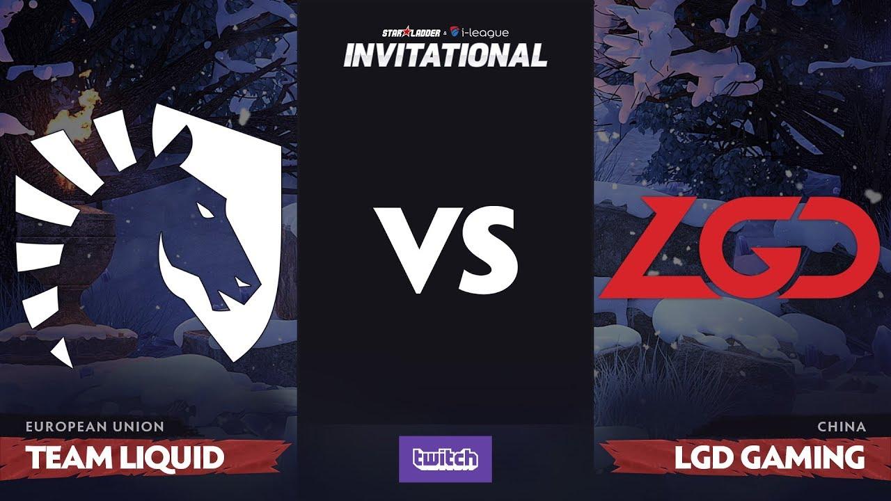 Team Liquid против LGD Gaming, Первая карта, Grand Final SL i-League Invitational S4