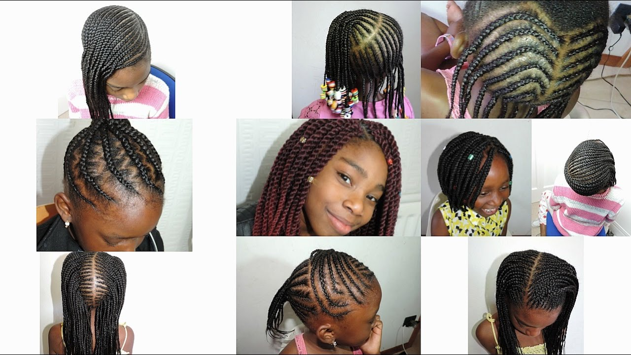 kids hairstyles 2017 || cornrows | boxbraids | crochet braids