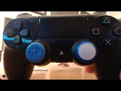 how to put biogenik grips on ps4 controller