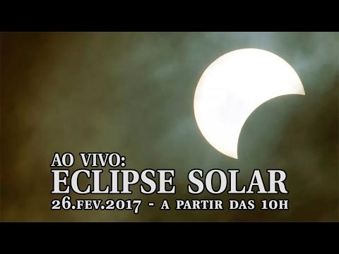 AO VIVO: Eclipse solar visto do Brasil