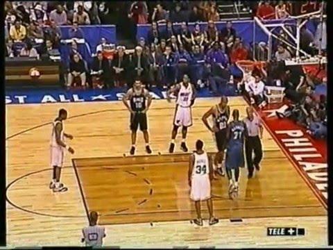 NBA All Star game 2002 Tranquillo Buffa