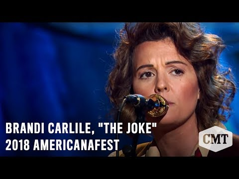 "2018 AmericanaFest | On CMT Dec 6 at 9/8c | Brandi Carlile, ""The Joke"""