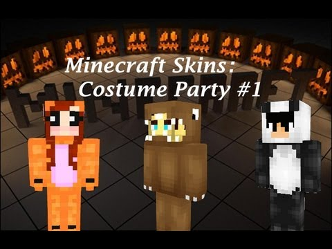 Minecraft Skins  Costume Party Minecraft Skins # 1 & Minecraft Skins : Costume Party Minecraft Skins # 1 - YouTube