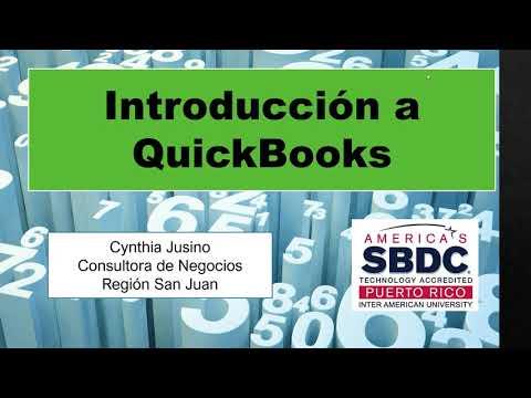 Introducción a Quickbooks para Empresas