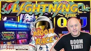 2 Bonus Round WIN$ ⚡Lightning Link Moon Race Slots   The Big Jackpot