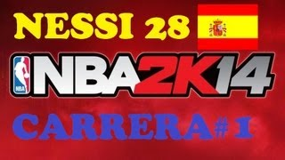 NBA 2K14 Ps3 español | Modo Carrera | My Player (mi jugador) | Parte 1 Rookie Showcase