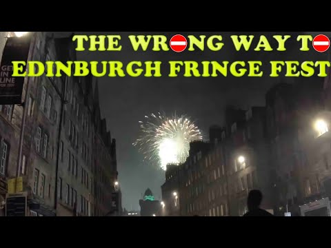 The Wrong Way To Edinburgh Fringe Festival - French Fried Comedy