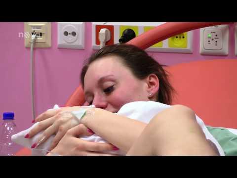 Malé lásky - 3. epizoda - porod mladé maminky