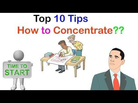 Top 10 tips How to Concentrate on Study | Get Excellence