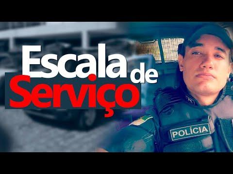 Como é a  Escala de Serviço Na policia militar | Andremissio Ferreira
