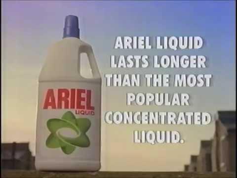 Ariel Liquid advert (Angus Deayton & Rebecca Front, 1994)