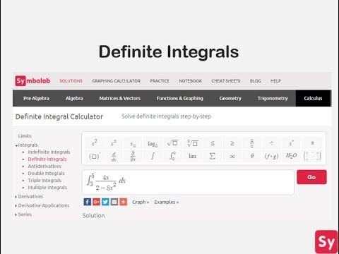 Symbolab Integral