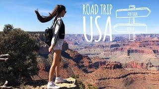 Автопутешествие по Америке (трейлер) | Road trip USA trailer. Katya Fevi