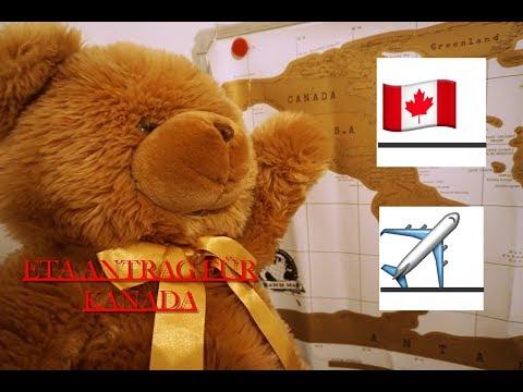 ✈️ ETA Antrag Ausfüllen  ✈️  🇨🇦 Nach Kanada Reisen 🇨🇦