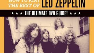 Guitar DVD presents: How to Play The Best of Led Zeppelin!