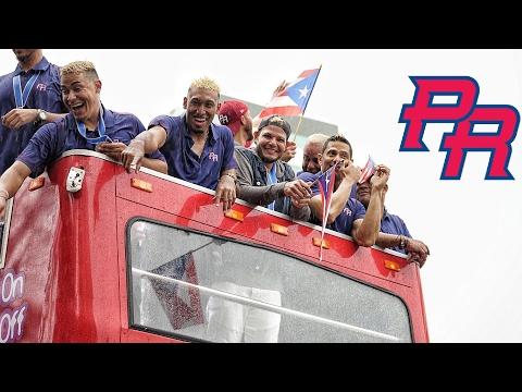 Recibimiento del Equipo Nacional De Puerto Rico - Nuestro Campeones #LosRubios | WBC 2017