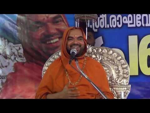 Ashirvachanam By Shri Shri Raghaveshwara bharathi Swamiji at Periya