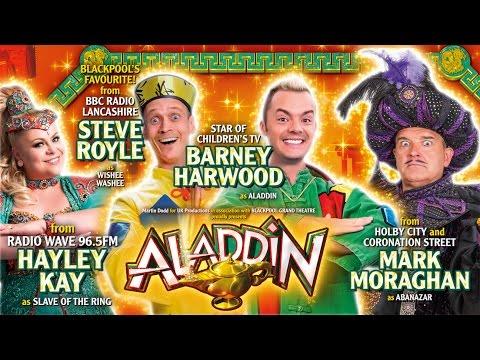 Aladdin Pantomime | The Blackpool Grand Theatre
