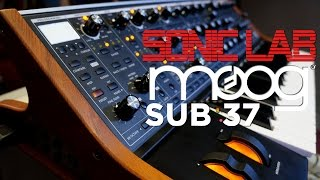 Sonic LAB: Moog Sub 37 Review