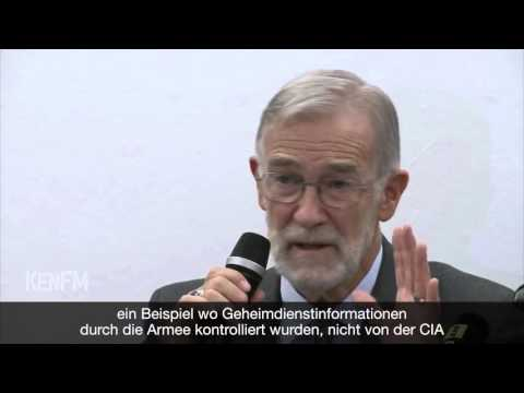 How are wars created today? – A lecture of fmr CIA officer Raymond McGovern in Berlin 2015 2015