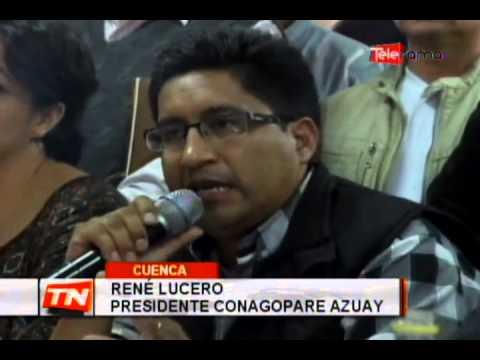 CONAGOPARE responde a reunión autoridades por tasa solidaria