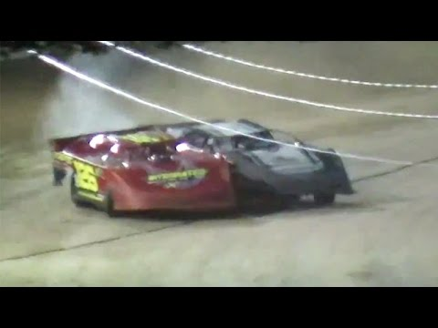 Crate Late Model B-Main | Little Valley Speedway | 7-3-15