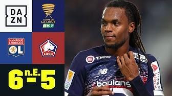 Sanches versagen die Nerven vom Punkt: Olympique Lyon -  Lille 6:5 n.E. | Coupe de la Ligue | DAZN