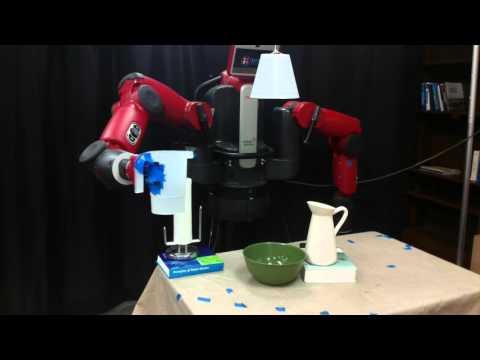 Robot Motion Planning for Tasks Using Learned Virtual Landmarks