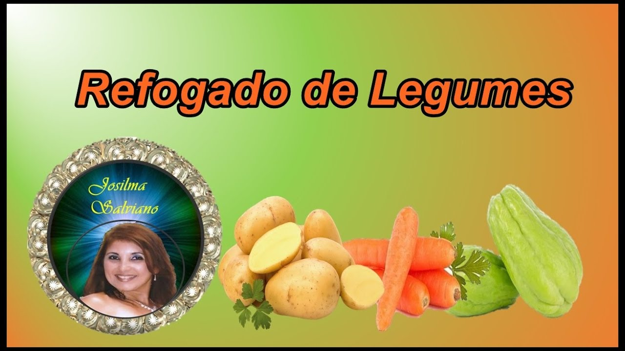 Refogado de legumes - YouTube