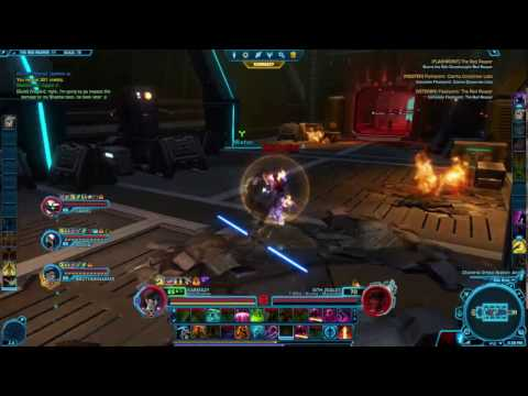 Swtor-Jedi Shadow gameplay-The Red Reaper Flashpoint
