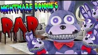 FNAF Plush - Nightmare Bonies DAD