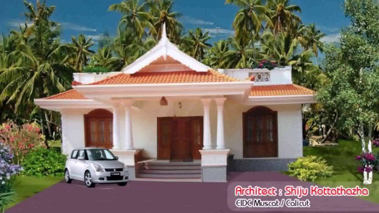 Kerala style house plans below 1000 square feet youtube for Kerala house plans below 1000 square feet