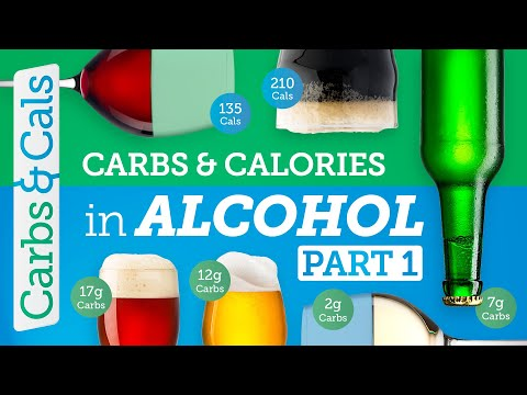Carbs & Calories in ALCOHOL: Essential Guide (PART 1)