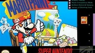 Let's Play Mario Paint With Anthony