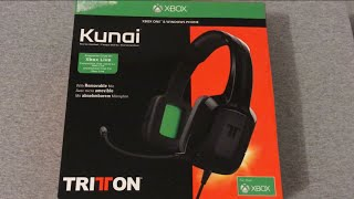 Kunai Triton Headset Unboxing For Xbox One, Windows, Smartphones.