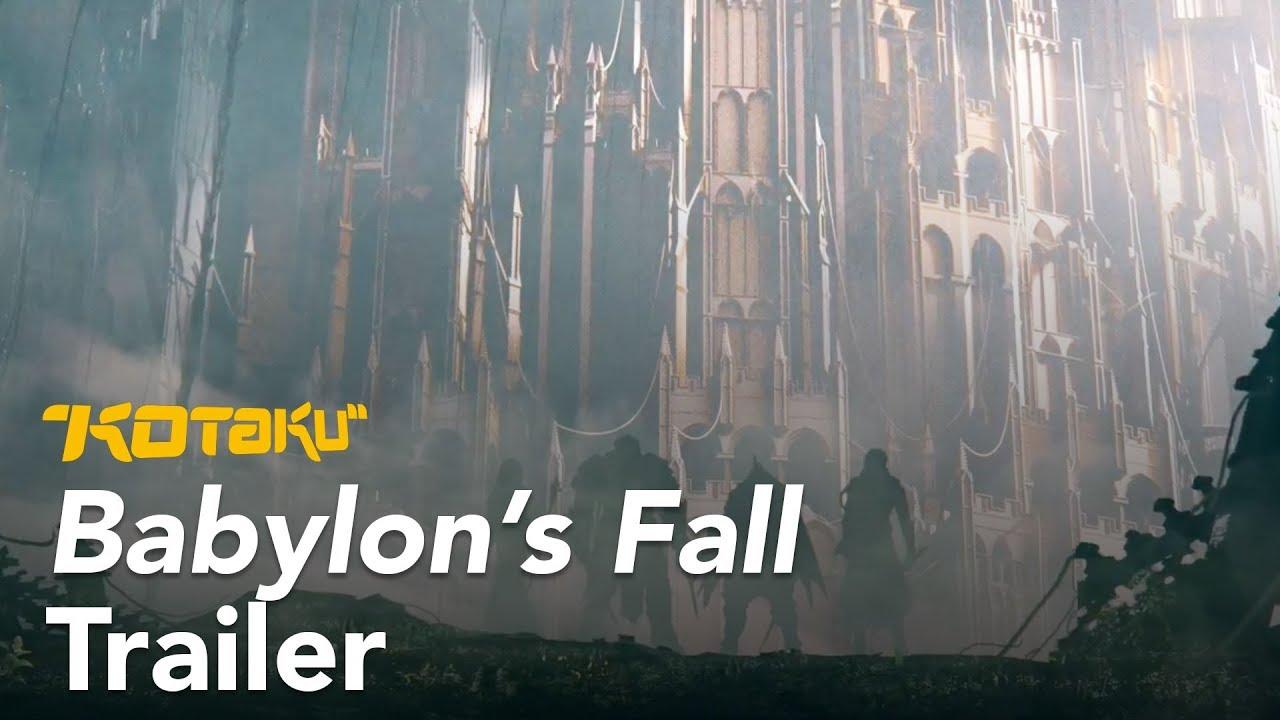 Babylon's Fall E3 2018 Trailer