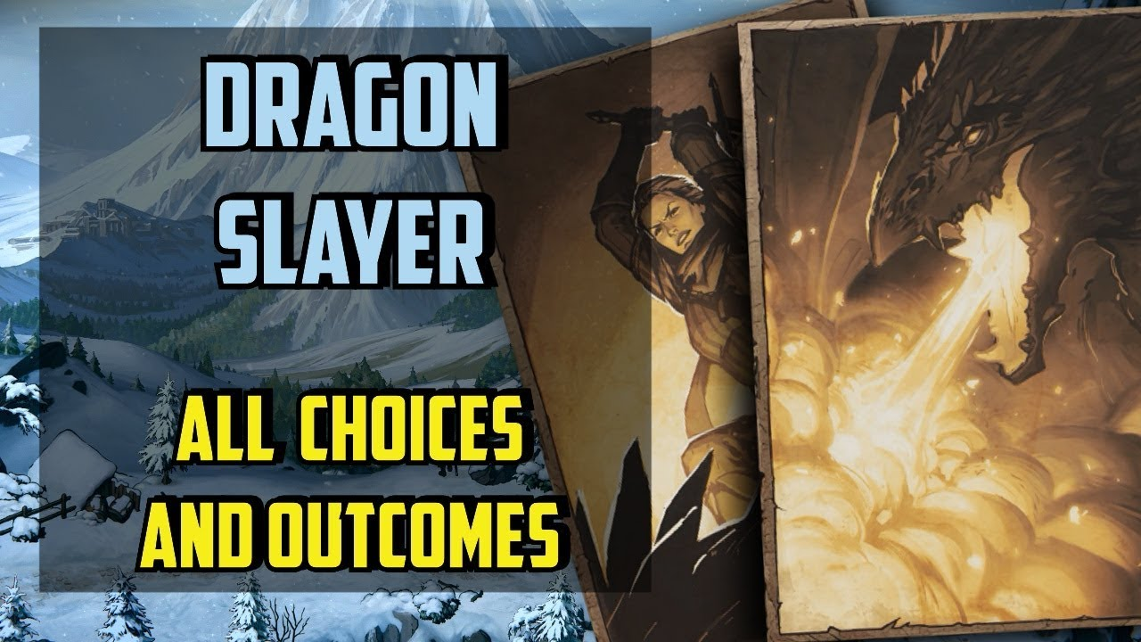 Dragon Slayer All choices - Thronebreaker the Witcher Tales - (Draconic  Instinct)