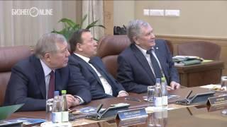 Рустам Минниханов провел Заседание Совета директоров ОАО «Татнефтехиминвест холдинг»