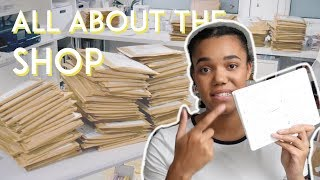 Packaging And Posting Hundreds Of Orders · Behind The Scenes Of An Online Shop · NOVEMBER VLOG pt. 1 thumbnail