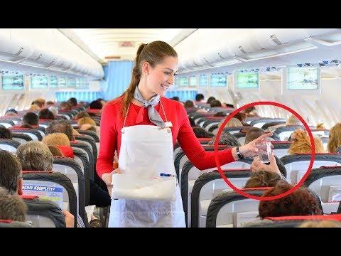 Flight Attendant SECRETS You Probably Don't Know