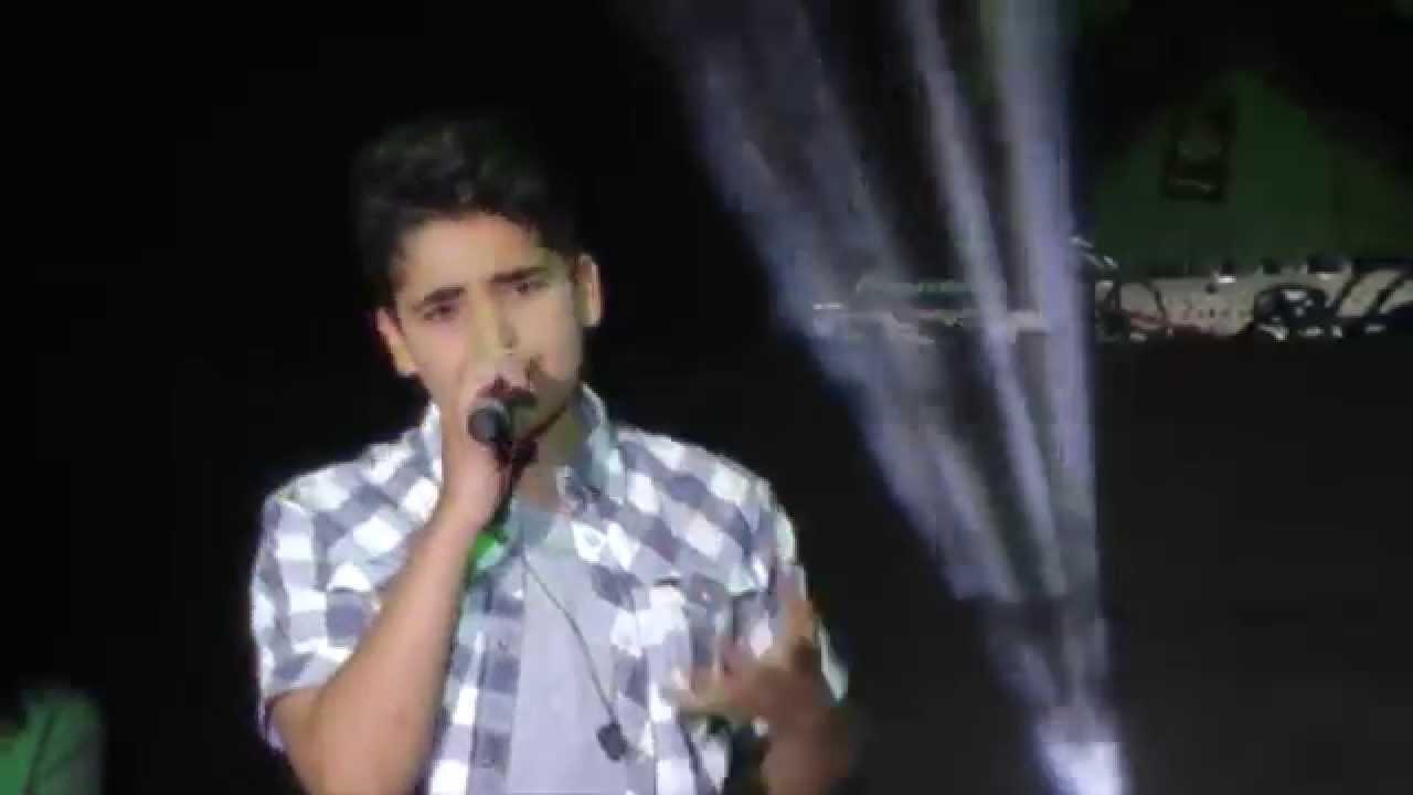 "Soufjan Ibrahim singt ""Applause"" auf dem The Voice Kids ..."