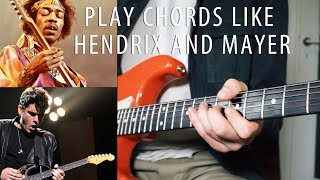 Gambar cover [HOW TO] Play Chords Like Hendrix and Mayer