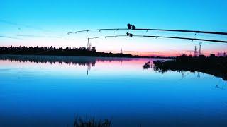 Рыбалка с ночёвкой и палаткой Река Волхов Фидер Лещ