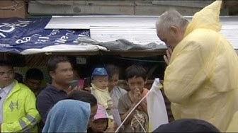 Papst-Besuch auf den Philippinen: Tropensturm ändert Reiseplan