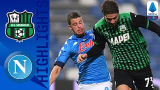 Sassuolo 3-3 Napoli | Sassuolo Score 95th Minute Equaliser in 6-Goal Thriller! | Serie A TIM