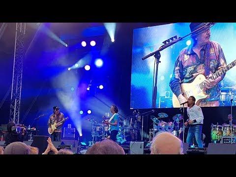 Santana feat. Erja Lyytinen - Love Power jam & Total Destruction Helsinki June 18, 2018