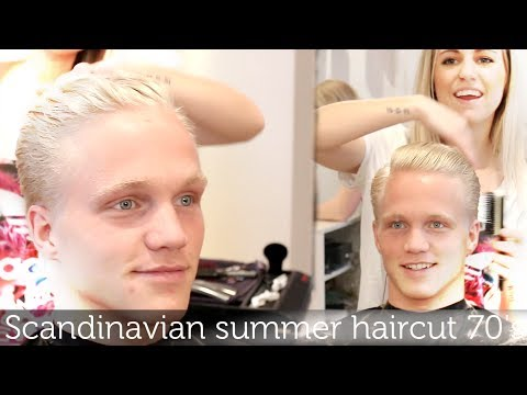 Scandinavian Summer Haircut | 70's Vibes | Men's Hairstyling Inspiration 2014