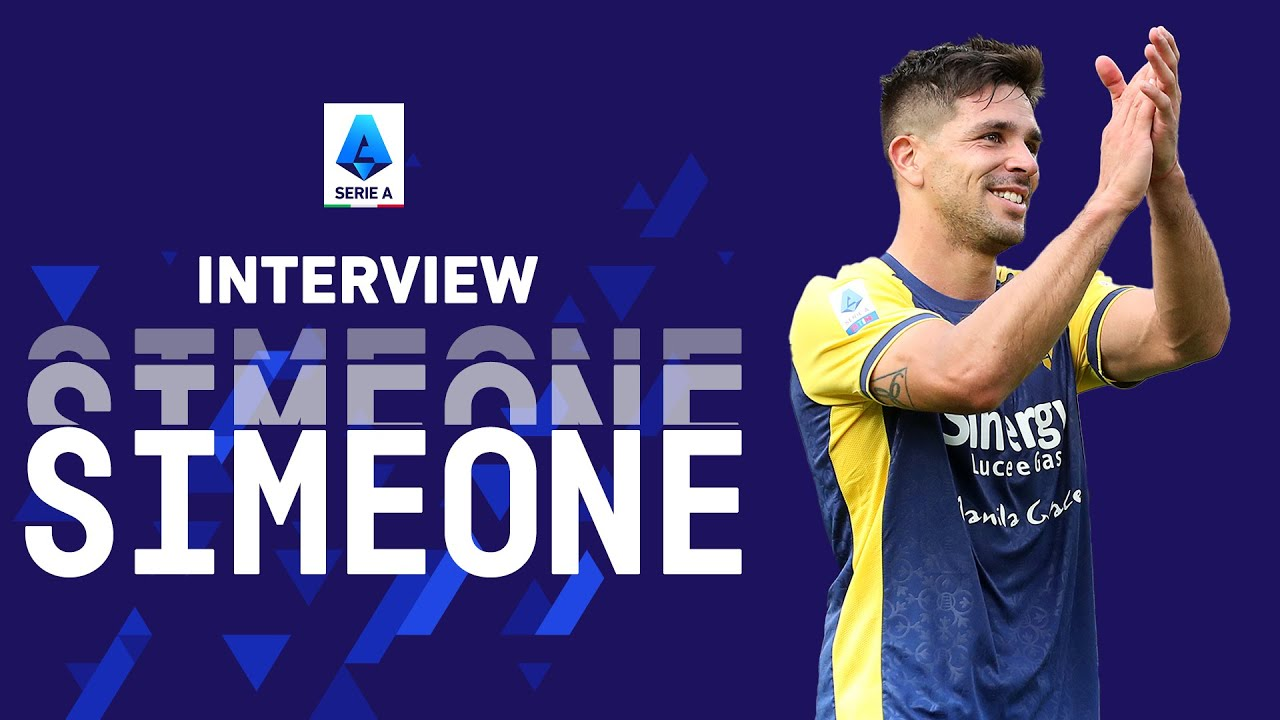 """""""Hellas Verona is the right team for me!""""  Giovanni Simeone   Interview   Serie A 2021/22"""